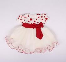 لباس مجلسی دخترانه 13498 سایز بدوتولد تا 24 ماه کد 4 مارک JOAN