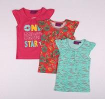 تی شرت دخترانه 13710 سایز 3 تا 10 سال مارک AVENUE
