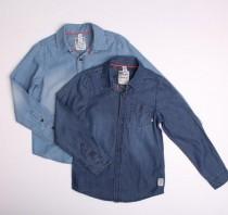 پیراهن جینز کاغذی پسرانه 110976 سایز 2 تا 14 سال مارک HEMA