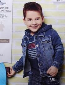 ژاکت جینز پسرانه 13701 سایز 12 ماه تا 6 سال مارک PAPAGAIMO