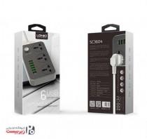 کد 65409 سه راهی برق و شارژ  (LDNIO (AMT