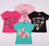 تی شرت دخترانه 13655 سایز 3 تا 6 سال مارک TISSAIA