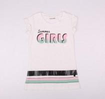 تی شرت دخترانه 13599 سایز 7 تا 12 سال مارک cocco drillo