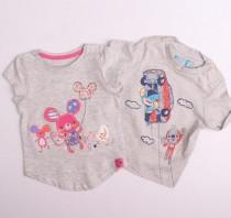 تی شرت دخترانه 12055 سایز 3 ماه تا 5 سال مارک MOTHER KIDS