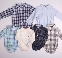 پیراهن زیردکمه دار پسرانه 12063 سایز بدوتولد تا 24 ماه مارک Carters