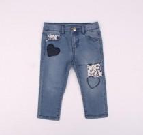شلوار جینز دخترانه 13466 سایز 12 تا 36 ماه مارک FAGOTTINO
