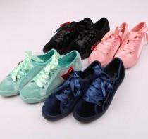 کفش مخمل دخترانه طرح CONVERS 13416 سایز 36 تا 41