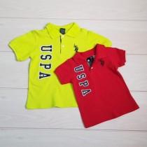 تی شرت پسرانه 19995 سایز 12 ماه تا 6 سال مارک US POLO