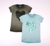 تی شرت دخترانه 13291 سایز 10 تا 14 سال JETTE