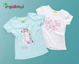 تی شرت دخترانه 13071 سایز 12 ماه تا 6 سال  impidimpi