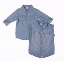 پیراهن جینز کاغذی 13189 3 تا 8 سال Carters