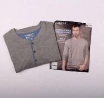 تی شرت مردانه 12493 مارک LIVERGY