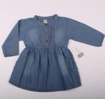 مانتو سارافون جینز دخترانه 12506 سایز 12 ماه تا 4 سال مارک CARTERS