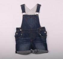 پیشبنددار جینز دخترانه 12515 سایز 2 تا 18 ماه مارک H&M