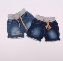 شلوارک جینز پسرانه  110220 سایز 6 تا 36 ماه مارک denim