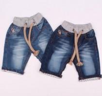 شلوارک جینز پسرانه 110231 سایز 9 تا 36 ماه مارک DENIM