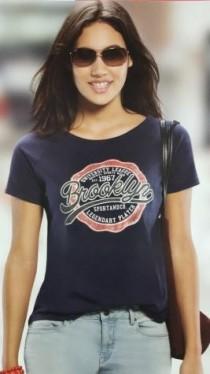 تی شرت زنانه 12589 کد2 مارک BlueMotions