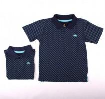 تی شرت یقه دار پسرانه 12636 سایز 0 تا 5 سال  مارک TILT
