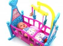 عروسک با گهواره 800175 (ANJ)