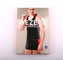 ست لباس زیر مردانه 12714  کد 2 مارک wezege