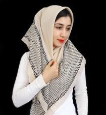 روسری طلا کوب ( ورساچی ) 12629