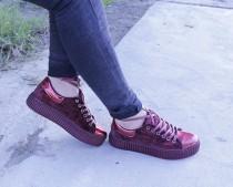 کفش لژ دار مخمل زنانه 12690 مارک NEW VIGO
