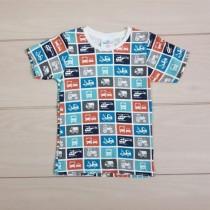 تی شرت پسرانه 20245 سایز 2 تا 5 سال مارک TOPO MINI