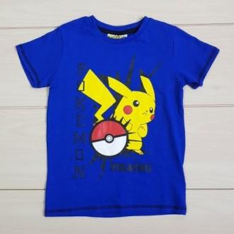 تی شرت پسرانه 20243 سایز 4 تا 11 سال مارک POKEMON