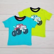 تی شرت پسرانه 19957 سایز 6 تا 24 ماه مارک ERGEE