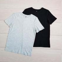 تی شرت دو عددی 20119 سایز 8 تا 14 سال مارک H&M