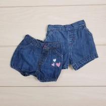 شرتک جینز دخترانه 20235 سایز بدوتولد تا 18 ماه مارک LADY BIRD