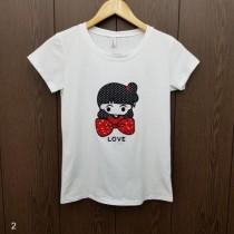 تی شرت زنانه 400256 سایز Free