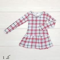 سارافون دخترانه 19928 سایز 1.5 تا 8 سال مارک H&M