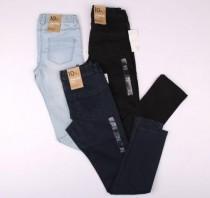 شلوار جینز دخترانه 13242 kiabi