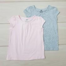 تی شرت دخترانه 20348 سایز 1.5 تا 10 سال مارک H&M