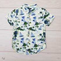 پیراهن پسرانه 20416 سایز 3 ماه تا 5 سال مارک NEXT