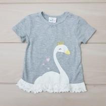 تی شرت دخترانه 20443 سایز 9 ماه تا 4 سال مارک TOPO MINI