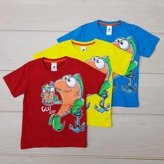 تی شرت پسرانه 20431 سایز 5 تا 8 سال مارک PALOMINO