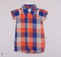رامپر طرح پیراهن پسرانه 11276 سایز بدوتولد تا 18 ماه مارک Carters