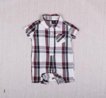 رامپر طرح پیراهن پسرانه 11276 سایز بدوتولد تا 18 ماه مارک BABY GAP
