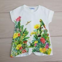 تی شرت دخترانه 20517 سایز 2 تا 9 سال مارک MAYORAL