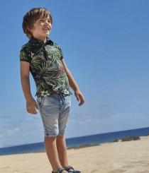 تی شرت پسرانه 20561 سایز 2 تا 7 سال مارک MAYORAL