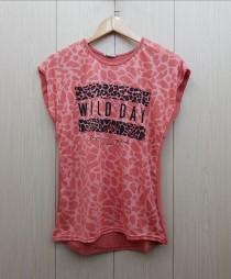 تی شرت زنانه 400378 سایز Free مارک DIAMOUR