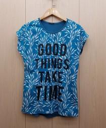 تی شرت زنانه 400379 سایز Free مارک DIAMOUR
