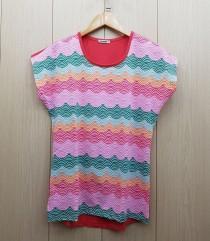 تی شرت زنانه 400380 سایز Free مارک DIAMOUR