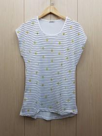 تی شرت زنانه 400381 سایز Free مارک DIAMOUR