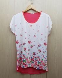 تی شرت زنانه 400382 سایز Free مارک DIAMOUR