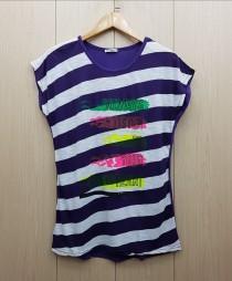 تی شرت زنانه 400383 سایز Free مارک DIAMOUR