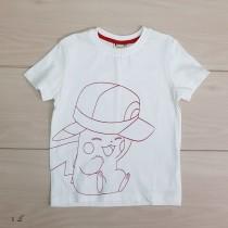 تی شرت پسرانه 20652 سایز 2 تا 7 سال مارک POKEMON