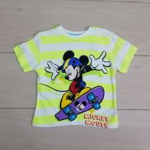 تی شرت پسرانه 20655 سایز 2 تا 8 سال مارک DISNEY
